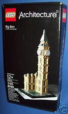 LEGO 21013 ARCHITECTURE - BIG BEN ~ London, England  346pc NEW NIB Age 12+