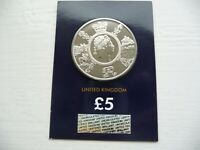 2020 King George III Brilliant Uncirculated £5 Five Pound BU Coin Certified Pack