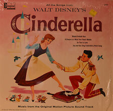 """East - SOUNDTRACK - Cinderella - Oliver Wallace and Paul J.Smith 12 """" LP (n165)"""