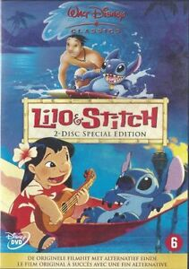 Lilo & Stitch  - Disney   special Edition new 2-dvd in seal