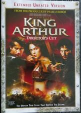 King Arthur (DVD, 2004, Extended Unrated Version Director's Cut ) NEW SEALED