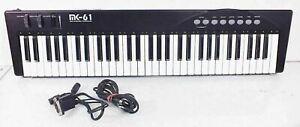 MK-61 MIDI Controller Keyboard GAMEPORT Connction