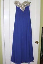 JASZ Couture Prom Dress ROYAL BLUE Size 00