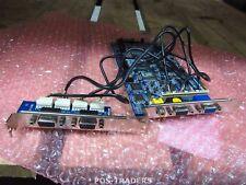 GeoVision GV-1480A Combo DVR Capture Card 480 FPS 16 CH PCI-E + 2x Serial RS-232