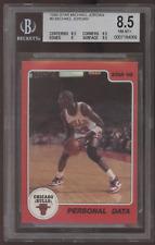 1986 Star #9 Michael Jordan Personal Data RC Rookie BGS 8.5 NM-MT+ w/ 9.5
