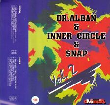 K 7 AUDIO (TAPE) DR ALBAN / INNER CIRCLE / SNAP (MADE IN POLAND)