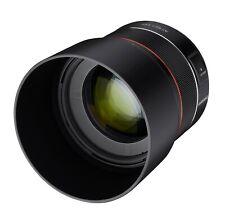 Samyang AF 85mm F1.4 High Speed Lens for Canon EF Mount - SYIO85AF-C