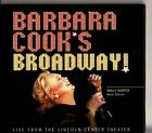 BARBARA COOK - Broadway ! -Live From The Lincoln Center Theater CD -RARE