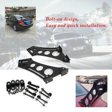 "10""Car CNC Rear Wing Trunk Racing Tail Spoiler Legs Mount Brackets Powder-coated"