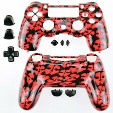 NEW Sony Playtstation 4 PS4 Dualshock Controller Skull Red Shell + tools