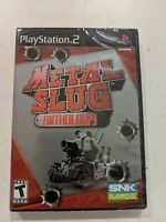 Metal Slug Anthology (PlayStation 2, PS2) Brand New Factory Sealed