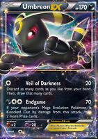Pokemon Card: Umbreon EX - 55/124 - Ultra Rare XY Fates Collide