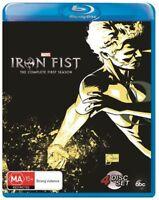 Iron Fist : Season 1 (Blu-ray, 4-Disc Set) NEW