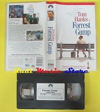 film VHS FORREST GUMP 1994 tom hanks EDIZIONE WIDESCREEN PARAMOUNT (F35) no dvd