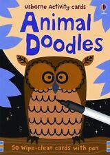 Animal Doodles Usborne Activity Cards
