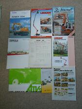 @Quantity of Construction Machinery Literature@