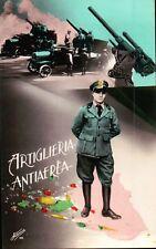 "CARTOLINA "" ARTIGLIERIA ANTIAEREA "" ALTEROCCA TERNI 1941 XIX C6-820"