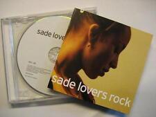"SADE ""LOVERS ROCK"" - CD"