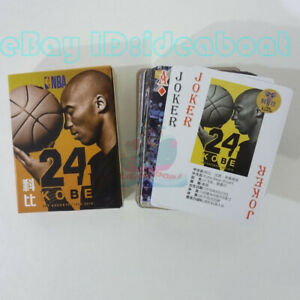 basketball 54 cards of The NBA star Kobe BRYANT Collectible Playing card/Poker