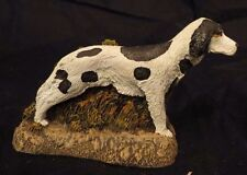 Cold Cast Bronze ~ Kennel Collection ~ English Setter ~Hand-Painted~1970~1+ Ship