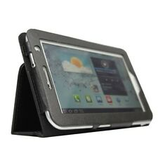 Custodia in pelle per 7 pollici Samsung Galaxy Tab 2 P3100 / P3110 nero D5J3