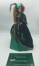 Barbie as Scarlett O'Hara Green Velvet Drapery Dress - Legends Of Hollywood