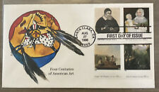 FDC FIRST DAY COVER FOUR CENTUTIES OF AMERICAN ART