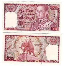 THAILAND 100 BAHT 1978 SIGN 60 UNC P 89