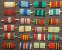 Russian Soviet USSR medal order badge pin ribbon bar set of 24 pcs