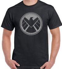Marvels Agents Of Shield Mens Superhero T-Shirt The Avengers Iron Man