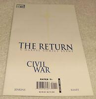 MARVEL COMICS CIVIL WAR THE RETURN # 1 VF+ CIVIL WAR TIE-IN