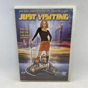Just Visiting region 4 DVD (2001 Christina Applegate / Jean Reno comedy movie)