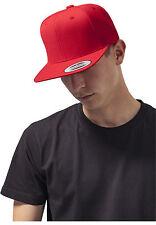 Flexfit Original Snapback Cap Plain Basic Baseball Cap 2 Tone Blank Hat
