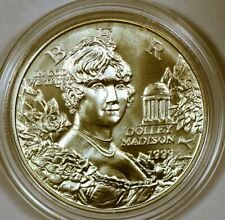 1999-P Uncirculated Dolley Madison Commemorative Silver Dollar