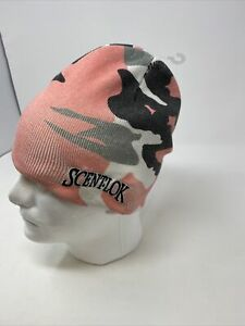 Scent-Lok Adult Pink Camouflage Hunting Beanie