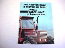 2 Deutz-Fahr DX3 & Hesston Tractor Brochures