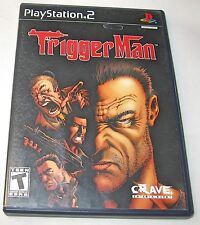 Trigger Man Sony PlayStation 2, 2004 Video Game T-Teen  FREE SHIPPING U.S.A.