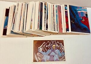 1983 PANINI MASTERS OF THE UNIVERSE STICKER SET 216 STICKERS COMPLETE HE-MAN
