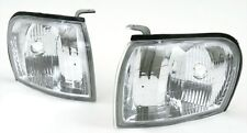 1997-2001 Subaru Impreza Euro Clear Corner Park Lights PAIR