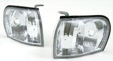 fits 1997-2001 Subaru Impreza Euro Clear Corner Park Lights PAIR