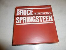 BRUCE SPRINGSTEEN - The Collection 1973-84 - 2010 UK 76-track EIGHT CD box set