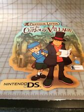 Nintendo Promo Character Set Store Display Professor Layton 6 Pc Set NEW