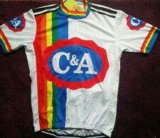 1978 C&A Merckx cycle cycling jersey retro NWT large xl