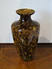 Ancien grand vase en verre soufflé plusieurs teintes Murano? Verreries Est?..