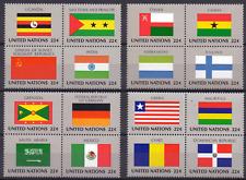 UNO New York Mi 472-87 ** Flaggen der UNO-Länder flags of the UNO countries 0205