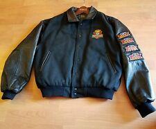 Genuine Leather Sleeve Letterman  Men Wool Jacket KB HOME PERFORMANCE CLUB MED