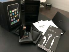Apple iPhone 3G - 8GB - Black A1241 (GSM) Matching Numbers Box