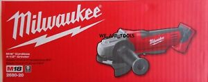"""NEW IN BOX Milwaukee M18 2680-20 Cordless Cut Off Grinder 4 1/2"""" Paddle 18 Volt"""