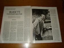 ALESSANDRO BLASETTI regista INTERVISTA clipping articolo foto photo 1968