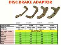 MOUNTAIN  BIKE 180mm, 203mm Disc Brake Adaptors, can add rotor,